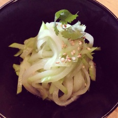 Zen Salad at the Noodle Face Co Modern Beijing Tasting