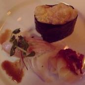 Albacore Tuna and Spicy Scallop.