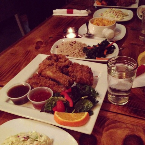 Fried Chicken Feast at Harlem Underground