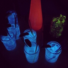 Black Light Gin + Tonics