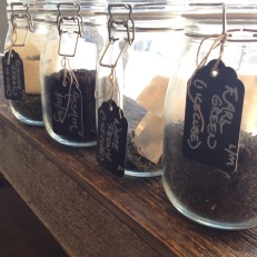 SLICED offers a wide selection of premium loose leaf teas.