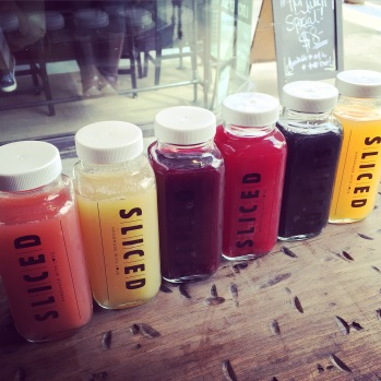 Fresh Juice at SLICED Gourmet